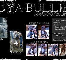 KuYa Bullies Puppies by AdJuStCreations