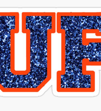 Glitter UF Sticker