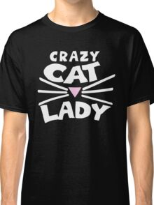 Crazy cat lady Classic T-Shirt