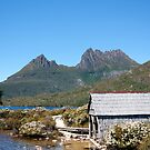 Dove Lake Boat House - Cradle Mountain by Mick Duck