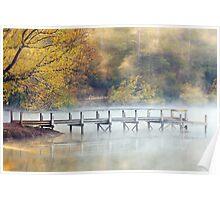 Lake Daylesford Dawn, Victoria, Australia Poster