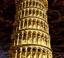 Leaning Tower of Pisa, Tuscany by Madeleine Forsberg