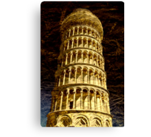 Leaning Tower of Pisa, Tuscany Canvas Print