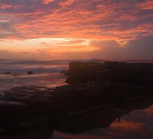 Merewether Sunrise by Peter Curran