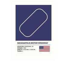 Indianapolis Motor Speedway Art Print