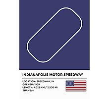 Indianapolis Motor Speedway Photographic Print