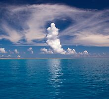 Wistari Reef Cloud Forms - Australia by Anthony Wilson