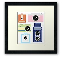 Camera Graphics Framed Print