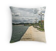 Along The Water's Edge Throw Pillow