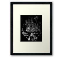 Skull Graphic Framed Print
