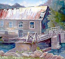 Old Lumber Mill, Ontario by Saga Sabin