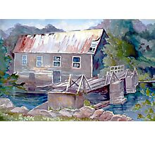 Old Lumber Mill, Ontario Photographic Print