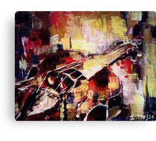 Colorful Violin Canvas Print