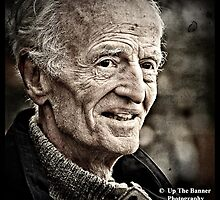 Portrait Photography of a senior male.  by upthebanner