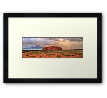 Ayers Rock (Uluru) Sunset, Australia Framed Print