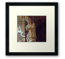 Defacing Venus Framed Print