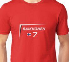 F1 2015 - #7 Raikkonen [v2 Red] Unisex T-Shirt
