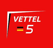 F1 2015 - #5 Vettel [v2 Red] by loxley108