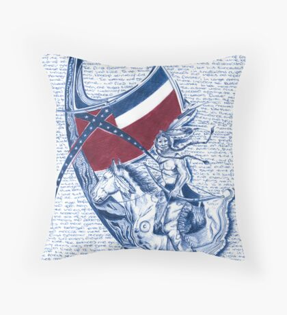 Native American  Throw Pillow