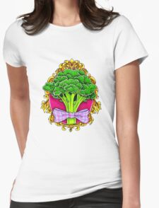 Mister Broccoli Womens Fitted T-Shirt