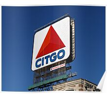"Bostons Beloved ""CITGO"" Sign. Poster"