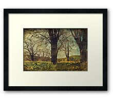The Art of Just Being Framed Print