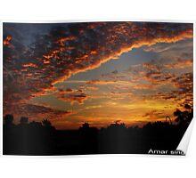 Angry sky Poster