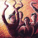 Flamenco Sun by cheska