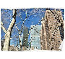 Behind The Trees Tudor City Poster