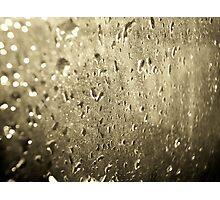 Old rain Photographic Print