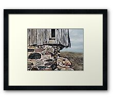 Abandoned Barn - Huron County Framed Print