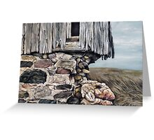 Abandoned Barn - Huron County Greeting Card