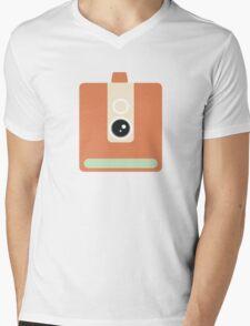 CAmera graphic Mens V-Neck T-Shirt