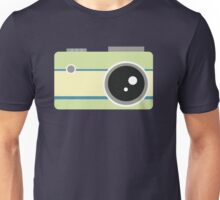green camera graphic Unisex T-Shirt