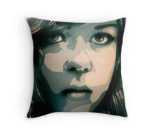 Concentration II Throw Pillow