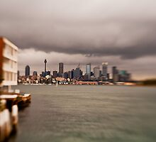 Rainy Day In Sydney by Raoul Isidro