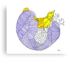 Sketch 8 ... nesting Canvas Print