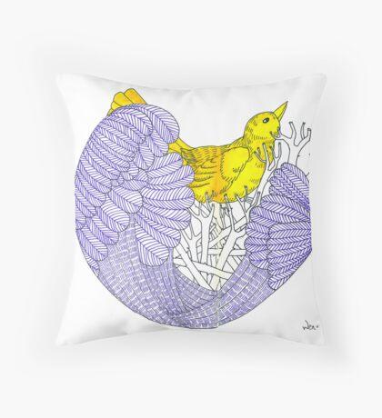 Sketch 8 ... nesting Throw Pillow