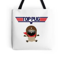 Top Pug Dog Tote Bag