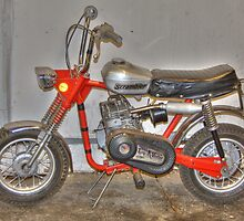 Old Scrambler Bike by henuly1