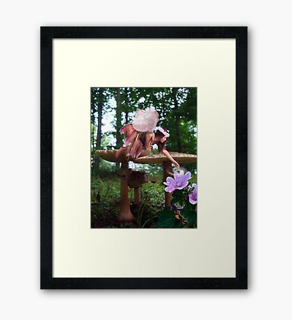 A Fairy's Work is Never Done Framed Print