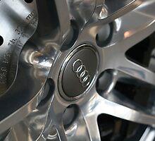 2011 Audi R8 Wheel and Rotor by Daniel  Oyvetsky