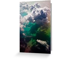 Above the Clouds 0295 Greeting Card
