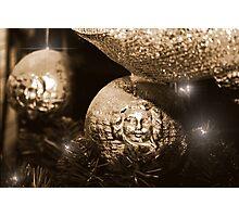 Christmas Glitter Photographic Print