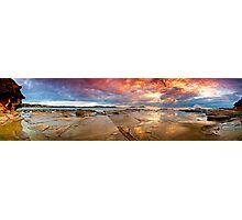 Terrigal Fire Photographic Print