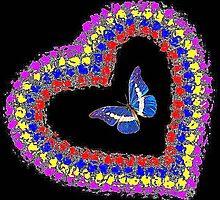 Love Butterflies by Deborah Lazarus