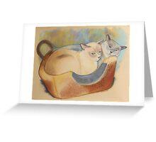 Precious & Romeo Greeting Card