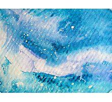 Blue Wave Photographic Print