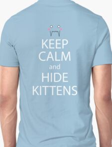 fullmetal alchemist keep calm and hide kittens anime mangashirt T-Shirt