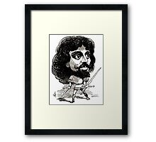 Georges Lafosse Mounet Sully Framed Print